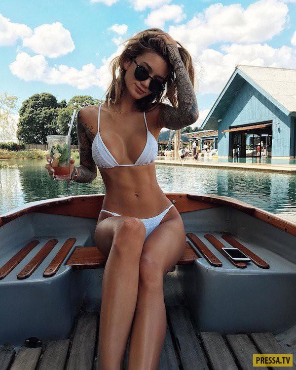 Лето море и красивые девушки (46 фото)