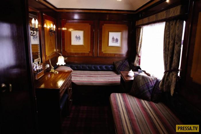 Шикарные поезда с очень дорогими билетами (22 фото)