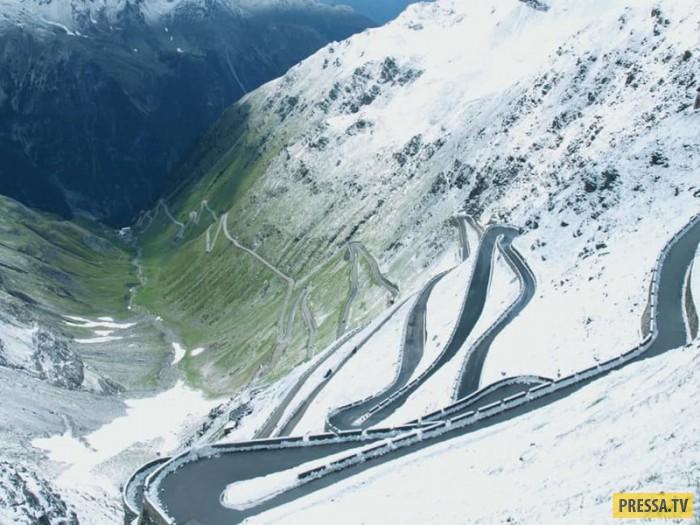 Топ 15: Самые опасные трассы в мире (16 фото)