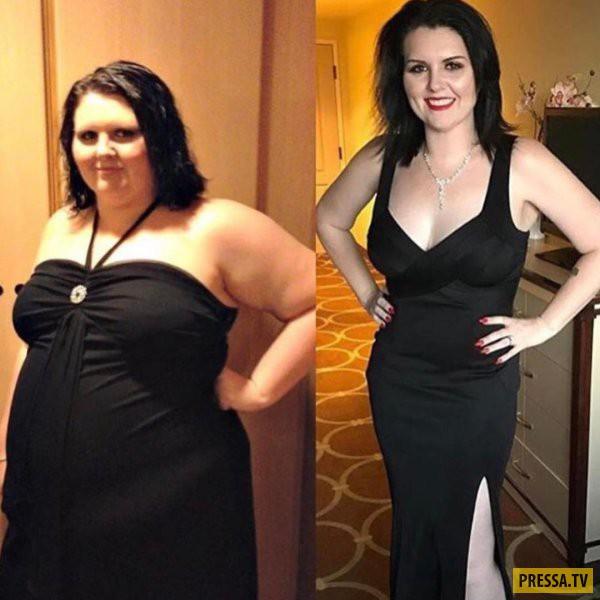 вода для похудения до и после