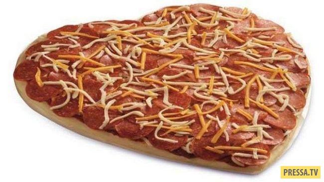 ТОП-10 самых дорогих и необычных пицц (10 фото)