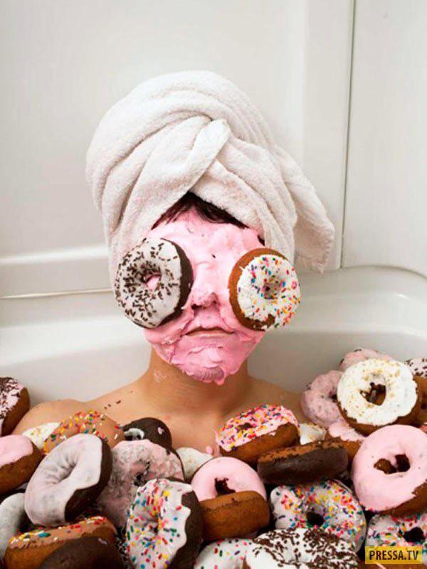 Прикольные картинки о сладостях
