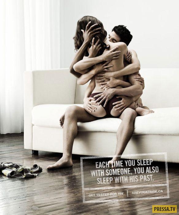 Эротика и секс в рекламе