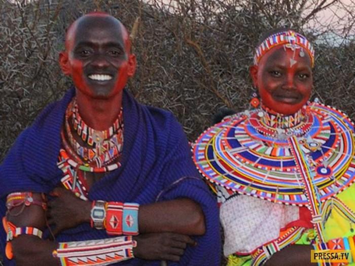 ТОП-7 необычных и диких традиций первой брачной ночи в Африке (8 фото)