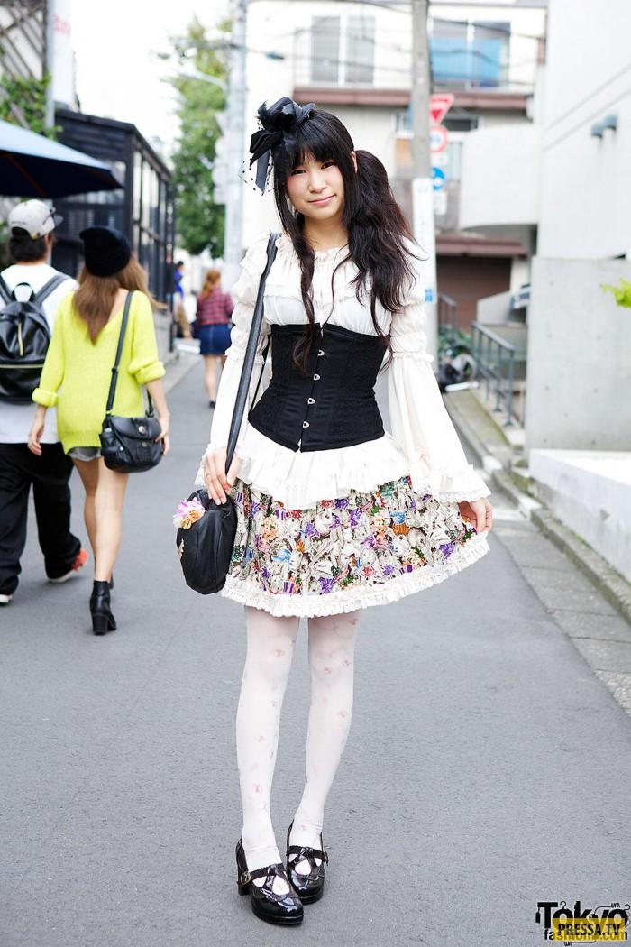 дальше картинки модной одежды японской хозяйка