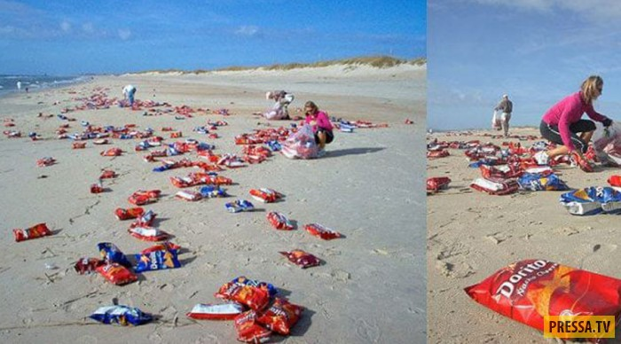 Топ 10: Самые необычные находки на пляже (10 фото)