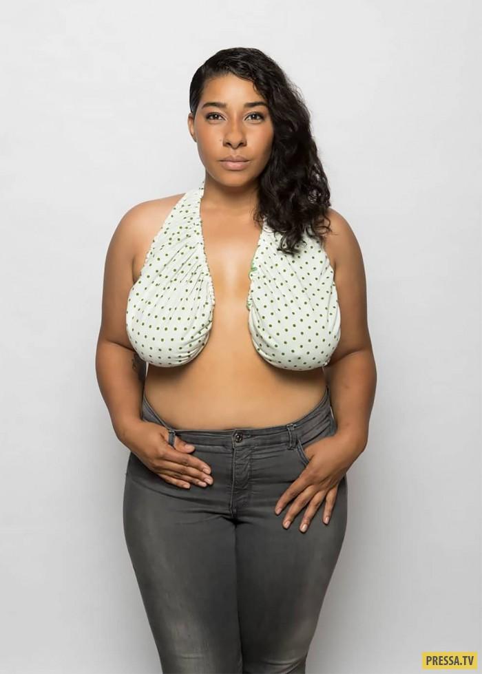 смотреть фото самая большая грудь у женщины мое