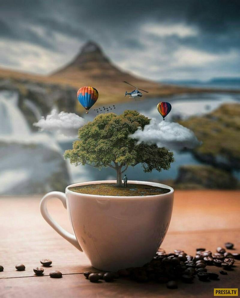 Надписями, позитивное утро приколы картинки