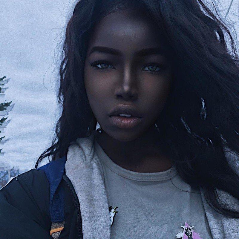 чернокожие модели