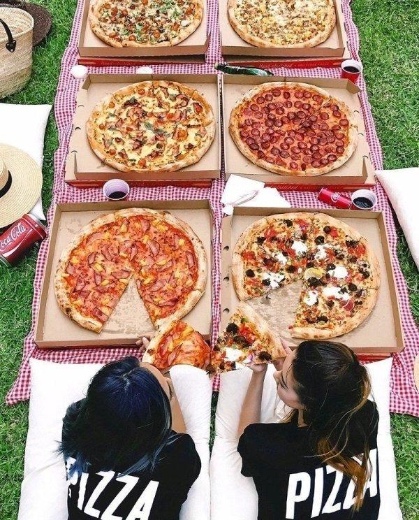 Прикольные пиццы картинки