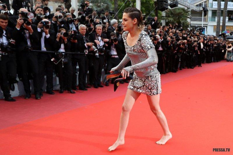 Кристен Стюарт выразила протест против дресс-кода Каннского фестиваля