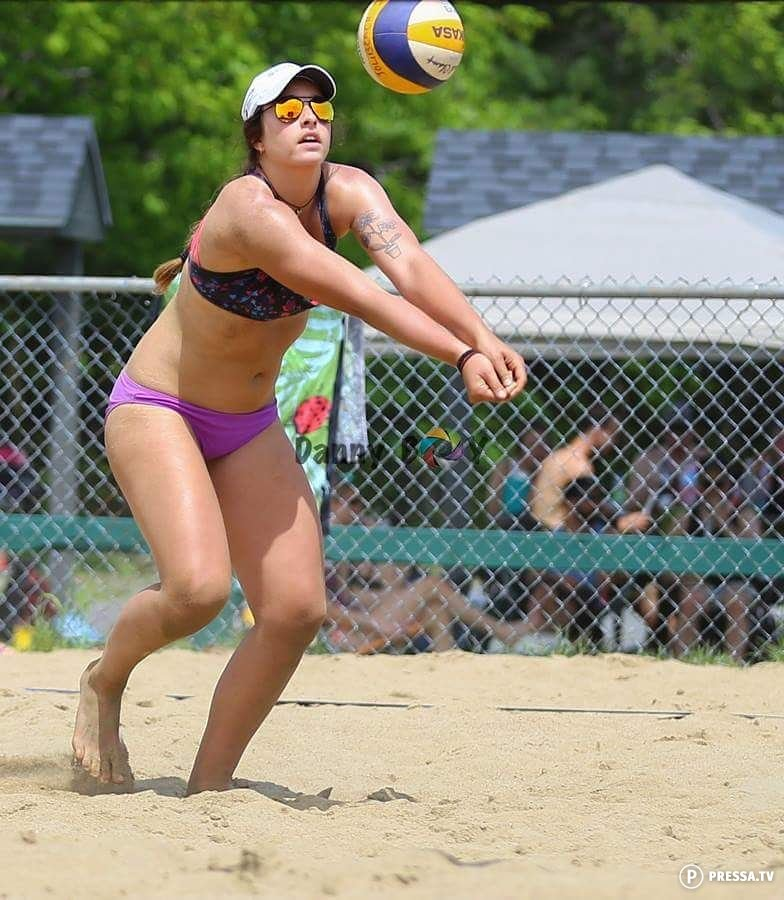 Beach volleyball sand bikini pussy pict free