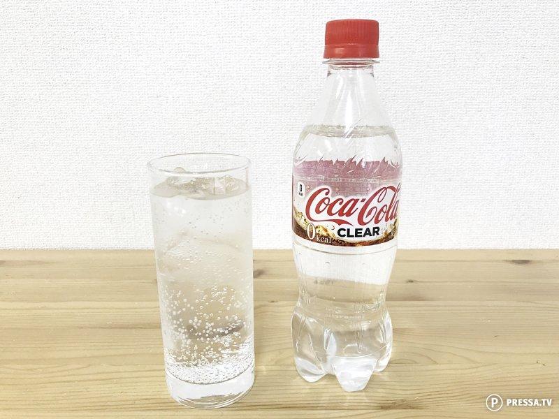 В Японии запустили производство прозрачной кока-колы