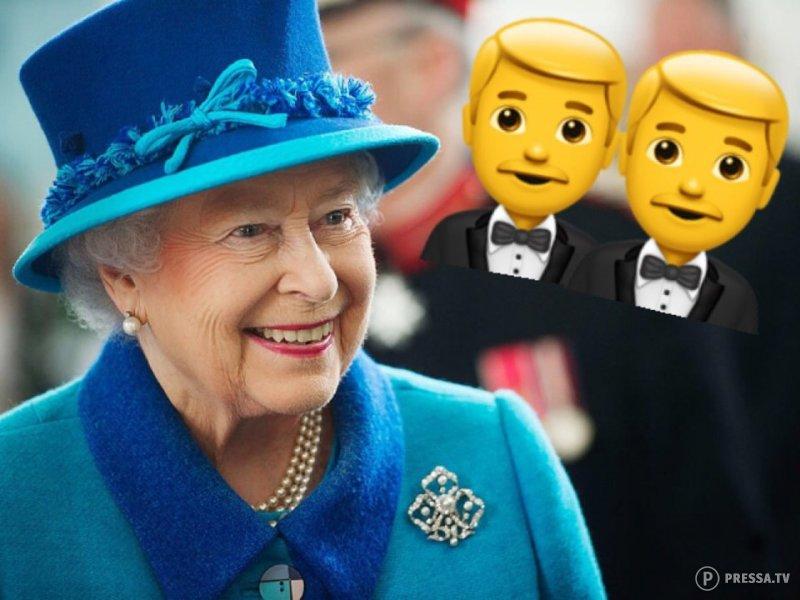 Первая однополая свадьба в королевской семье Великобритании