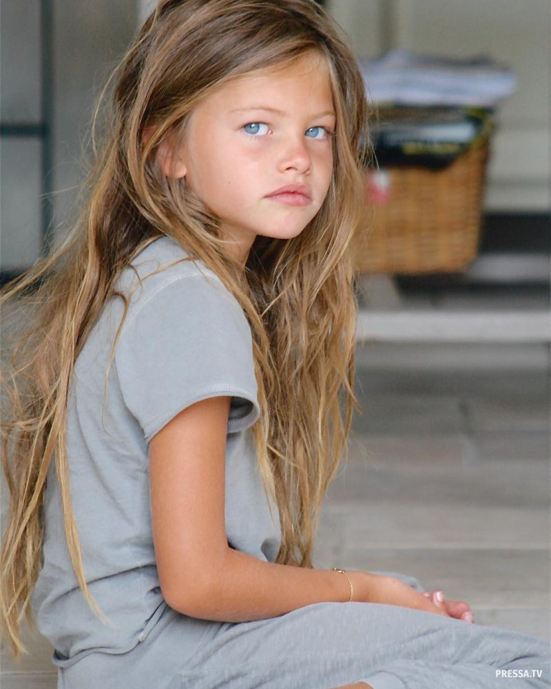 Самая красивая девочка в мире Тилан Блондо выросла и стала супермоделью