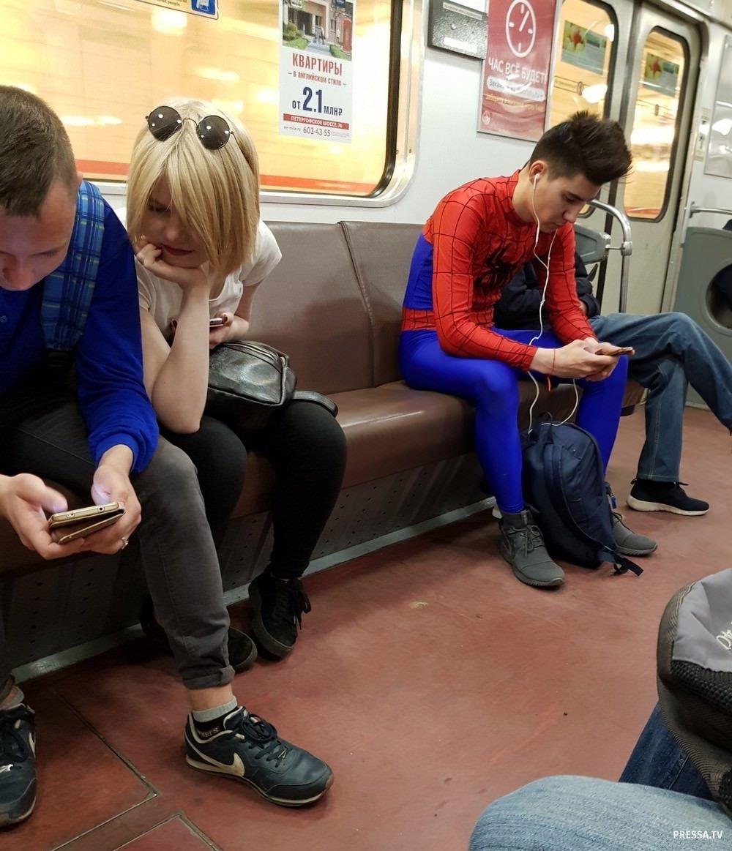 кого уже самое смешное фото в метро моем