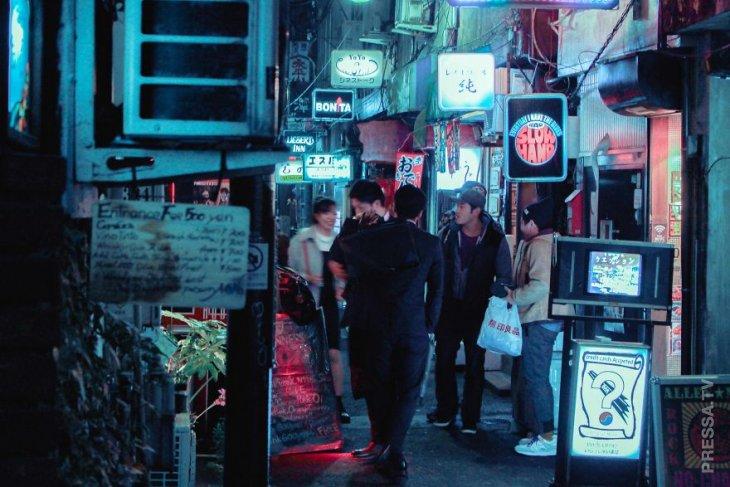 Фотографии ночного Токио  22