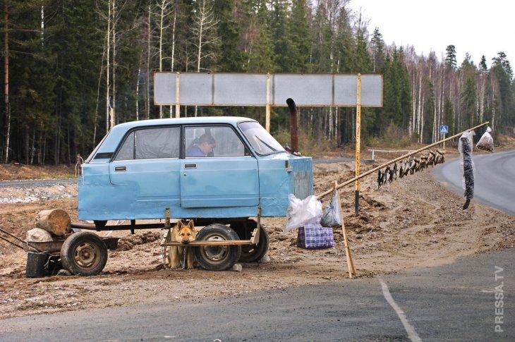 Удивительные и смешные фотографии из России  32