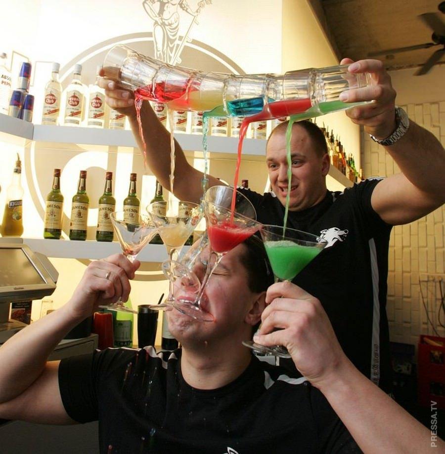 Смешные картинки бармена трутовик