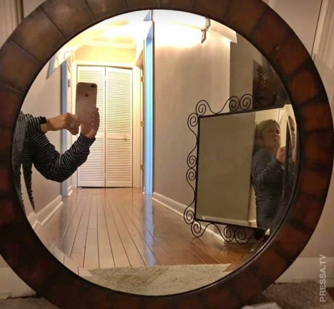 Зеркало приколы картинки