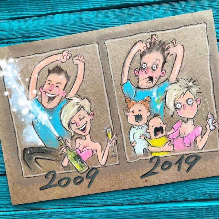 Смешные картинки 10 лет челлендж