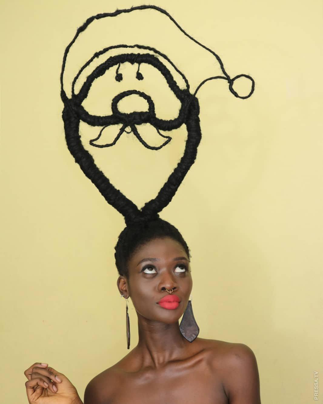 картинки фигуры из волос процедура необходима