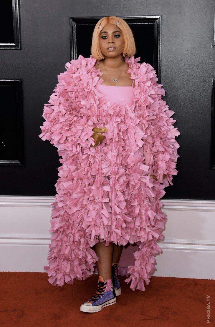 Самые экстравагантные наряды знаменитостей на Грэмми в 2019 году