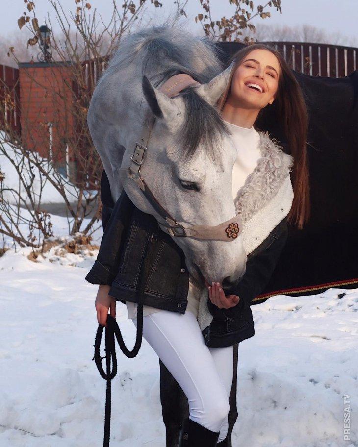 Внучка Софии Ротару поделилась новыми зимними фотографиям