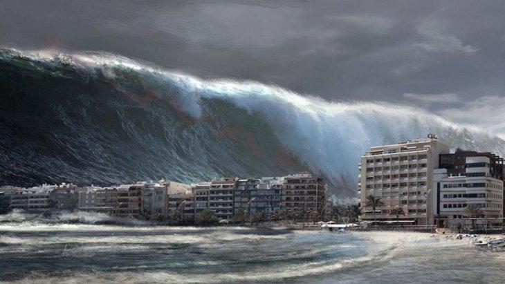 Самое крупное в СССР цунами: смытый город Северо-Курильск