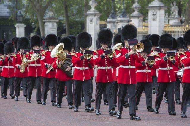 Тайные правила и протокол королевской гвардии Великобритании