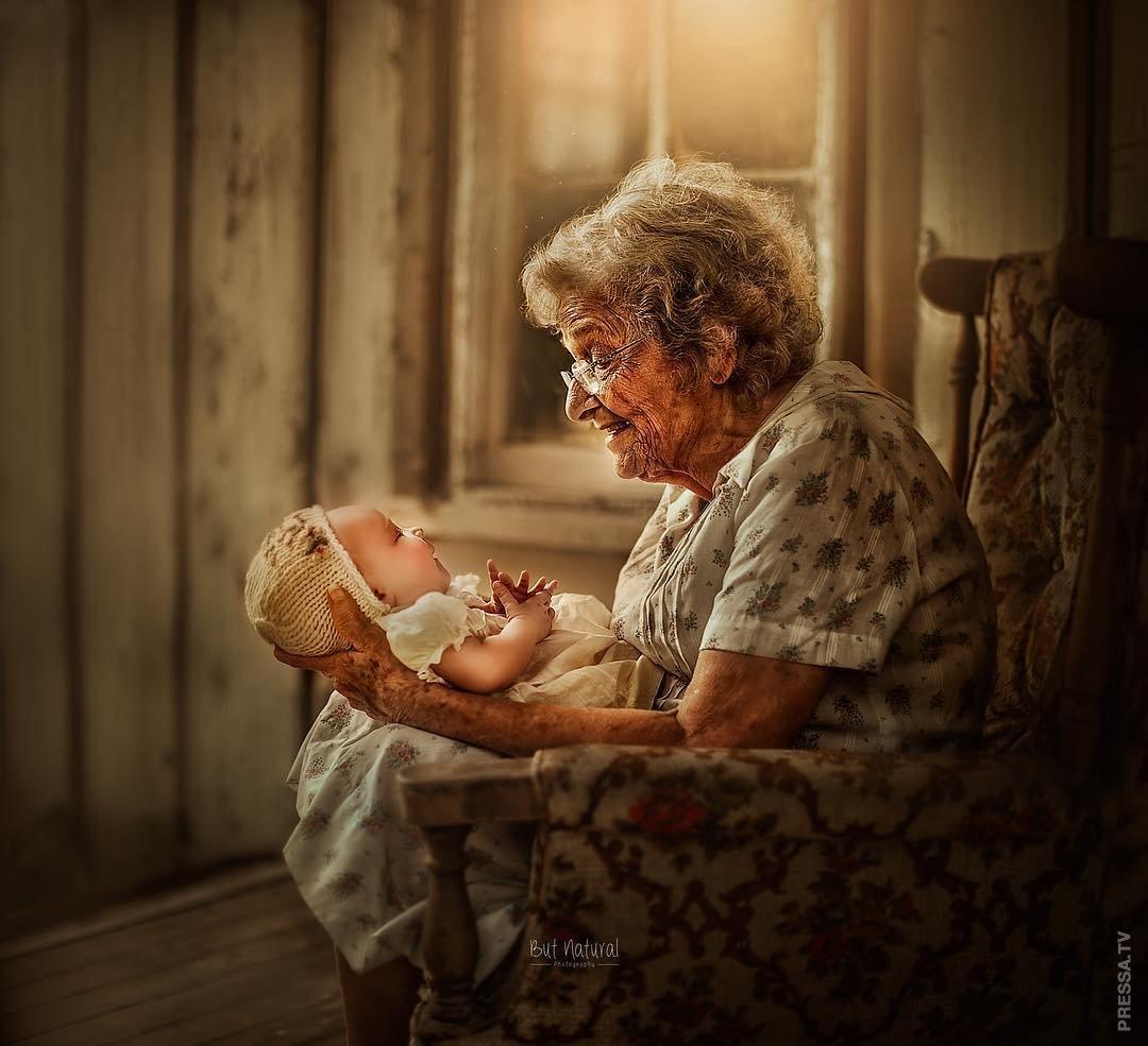 Картинки бабушки с внуками с музыкой видео