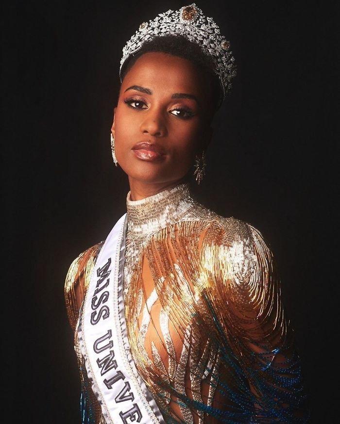 Зозибини Тунци -  «Мисс Вселенная-2019»