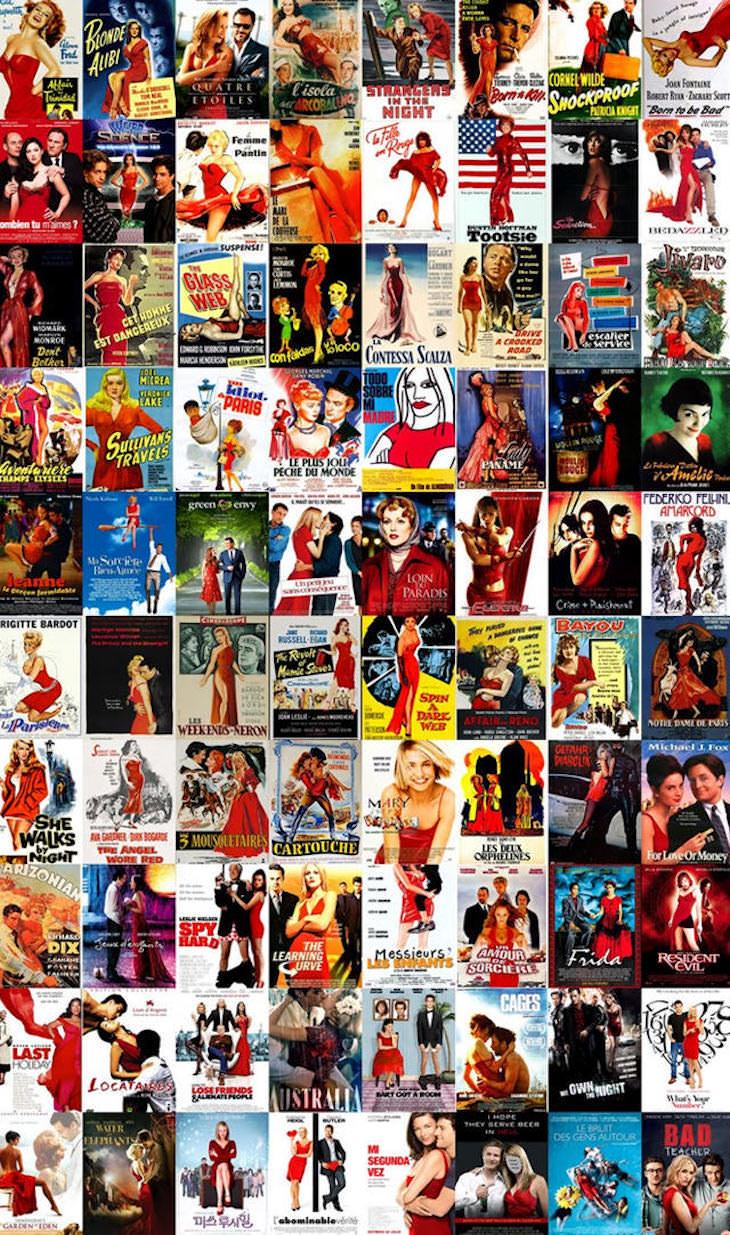 Существует только 13 типов обложек для фильмов