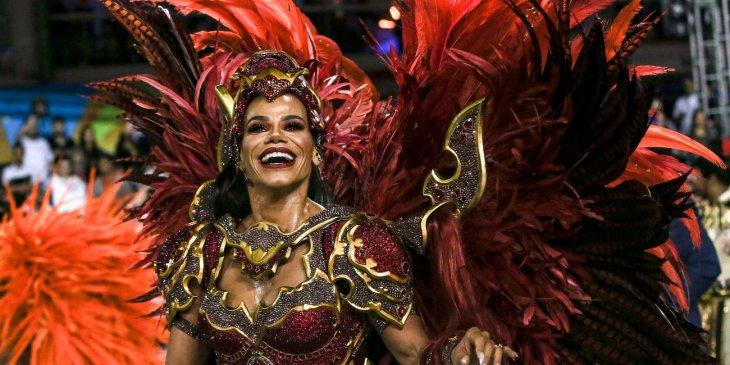 Уличный карнавал в Бразилии 2020