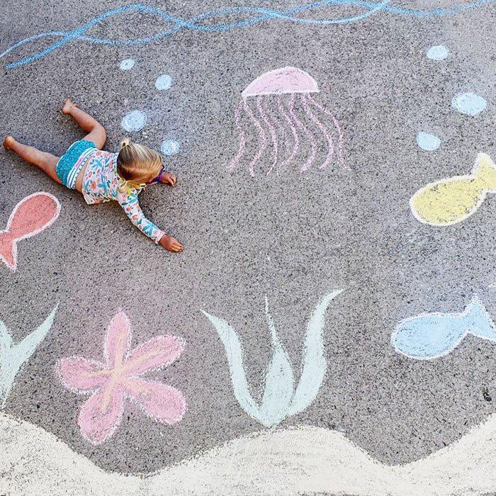 работы фото лежа на асфальте мелом дома поселке коркинские