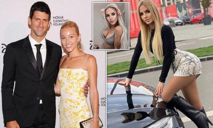 Сербской модели предложили деньги, чтобы соблазнила  теннисиста Новака Джоковича